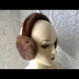 100% Genuine Full ✨Mink✨ Fur Ear Muffs